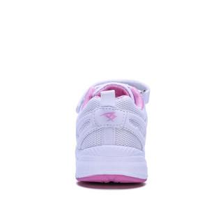 彼得潘童鞋 男童小白鞋儿童运动鞋女童P5016 白粉 31码