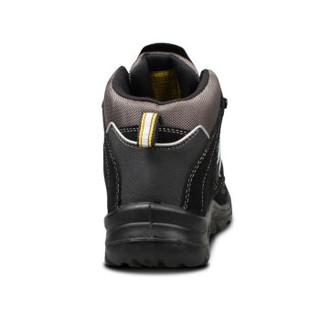 SAFETY JOGGERS 劳保鞋中帮防砸防刺穿防静电塑钢头凯夫拉中底工作安全防护climber 黑色 44码