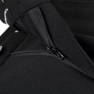 Brloote/巴鲁特休闲裤男商务休闲修身小脚裤子长裤 灰色 黑色 185/96A