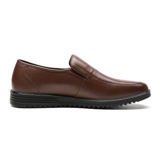 RED DRAGONFLY 红蜻蜓 男士商务鞋休闲套脚鞋轻便皮鞋 WEA83321/22
