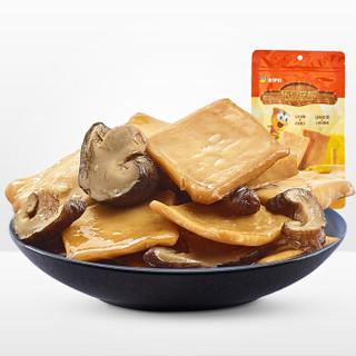 来伊份 休闲零食 豆制品 素食香干 山椒味香菇豆干125g/袋