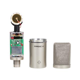 Magic-v Marcia S3 大振膜电容麦克风工作室网络主播通用喊麦话筒