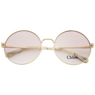 CHLOE 蔻依 女款金色镜框金色镜腿光学眼镜架眼镜框CE2145 717 57mm