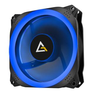 安钛克(Antec)光棱120RGB电脑主机箱CPU风扇(12cm/智能温控/液压轴承/双环设计/主板同步/风冷水冷显卡散热器