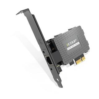 翼联(EDUP)EP-9602GS  PCI-E千兆网卡支持远程唤醒功能 台式电脑内置有线网卡 千兆网口扩展自适应以太网卡