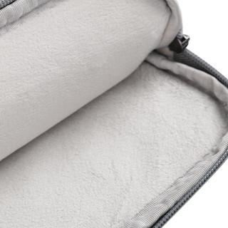 BUBM 苹果小米联想15.6pro笔记本电脑包女手提商务内胆包男华硕戴尔保护套薄公文包 FMBX-15.6英寸黑色