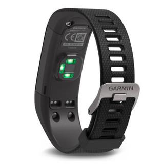 佳明(GARMIN)vivosmart HR+ 黑色GPS智能手环心率实时监测自动睡眠监测活动侦测来电提醒运动蓝牙手表