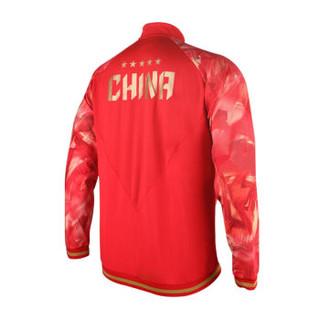 LI-NING 李宁 乒乓系列  乒乓球服国家队比赛领奖服长袖卫衣款  AWDN937-2  男款 运动服  M码