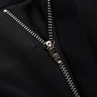 雅鹿 休闲裤男士 2019新款商务舒适薄绒长裤男青年弹力修身休闲裤 BS-8751511