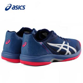 ASICS/亚瑟士男网球鞋 GEL-COURT SPEED运动鞋 E800N E800N-400 蓝色 44