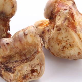 Red Bones红骨 狗狗零食磨牙棒带牛肉骨头磨牙骨补钙骨头 牛关节骨小号