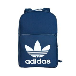 adidas 阿迪达斯 三叶草 双肩背包 休闲运动 学生背包 DJ2171 学院藏青蓝色