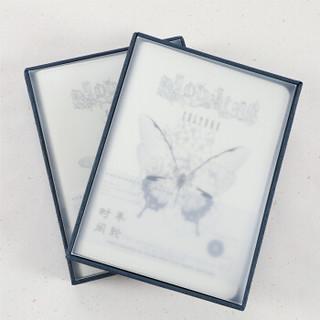 文谷(wengu)文具礼盒手账本皮面活页本精装笔记本随身记事本日计划本方格本PS-07D