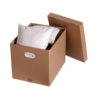 朗通纸箱 60*50*40塑料扣手5个装 搬家纸箱子 衣服 居家整理箱 文件资料收纳箱 储物整理箱