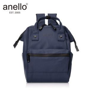 anello 阿耐洛 自营旗舰店 ins风男女书包双肩背包离家出走包B2812藏青色