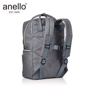 anello 阿耐洛 日本离家出走乐天防盗防水大容量双肩书包C1228灰色