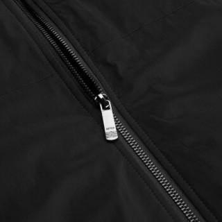 柒牌(SEVEN)棉服 中年男士商务休闲棒球领棉衣夹克2018冬季新款外套 115K20030 黑色 175