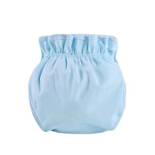 贝吻 婴儿隔尿布裤防漏可洗宝宝尿布兜四季透气新生儿内裤粉色l码 B2009