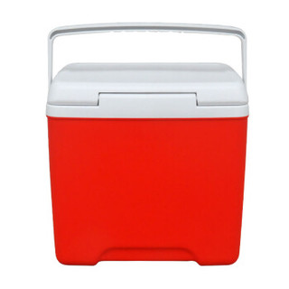 qtop齐天系列户外野餐车载便携冷藏保温箱14升红色 QT-M14
