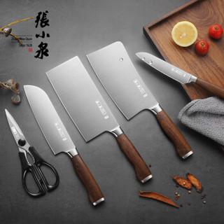 张小泉 淳木系列六件刀具套装 套刀 菜刀套装D31090100