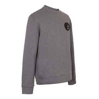 VERSACE COLLECTION 范思哲 奢侈品 男士灰色棉质圆领长袖卫衣 V800821L VJ00400 V8652 M码