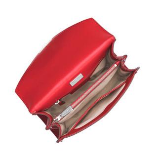MICHAEL KORS 迈克 科尔斯 MK女包 Whitney铆钉皮质女士大号单肩斜挎包 30T8SXIL7T BRIGHT RED红色