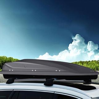 KOOLIFE 汽车旅行箱奥迪A4 allroad A3 车顶行李箱 Q3 Q5 Q7 车架载重行李架+横杆 黑色