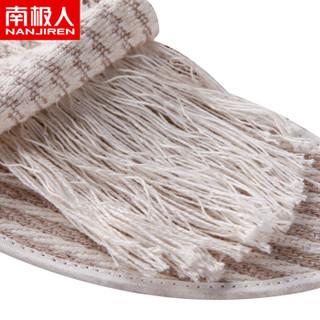 南极人 亚麻鞋垫男透气吸汗皮鞋舒适女棉麻 亚麻 40