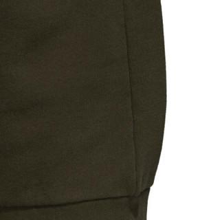 adidas 阿迪达斯 男子 三叶草系列 TREFOIL CREW 运动 卫衣 DM7834   绿色   M码