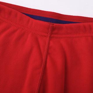 Double Umbrella 双伞 德绒超柔热暖加绒加厚保暖内衣男女套装盒装 DU8006 中国红 L