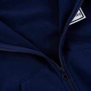 小红豆童装儿童卫衣开衫连帽拉链衫中大童长袖运动上衣外套NHT318IC藏青色140