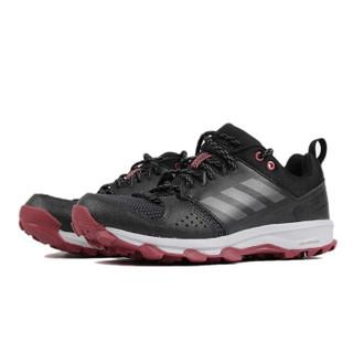 adidas 阿迪达斯 女子 跑步系列 GALAXY TRAIL 运动 跑步鞋 B43696 黑 36码 UK4码