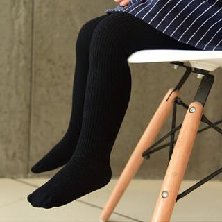 馨颂 女童连裤袜儿童打底裤宝宝袜子 Q004F5 浅紫色 70-80(S)(6-12个月)