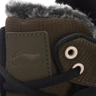 LI-NING 李宁 运动时尚系列 男 运动时尚鞋 AGCM189-2  枯松绿/标准黑 42