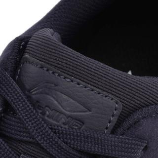 LI-NING 李宁 运动时尚系列 男 运动时尚鞋 AGCM123-2  藏黑蓝 44