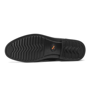 RED DRAGONFLY 红蜻蜓 男士商务休闲保暖高帮棉皮鞋 WTD81201/02 棕色 40