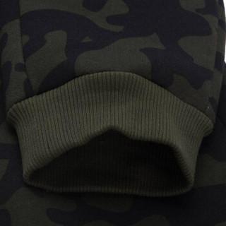 LI-NING 李宁 AKLM841-1 运动时尚系列 男 卫裤类 正橄绿迷彩匹印 XL