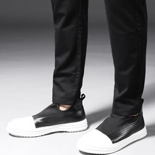 Lee Cooper 休闲裤男时尚潮流系带收腰长裤 LEEN3LG306 黑色 34码