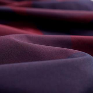 红豆 Hodo男装 长袖衬衫男简约商务系列方领提花时尚衬衫 R5红色 165/84A