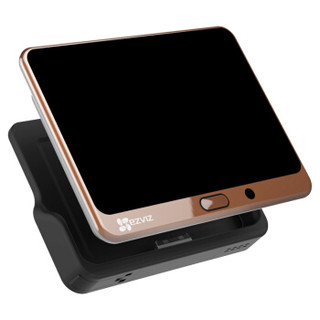 萤石DP1(棕色) 智能猫眼 摄像头 电子猫眼 可视门铃 防盗门监控 海康威视旗下品牌