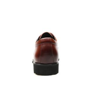EGCHI 宜驰 男士商务休闲软底工作皮鞋 36876