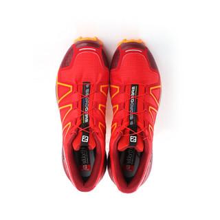 SALOMON 萨洛蒙 男款越野跑鞋-Speedcross 4 M 404657 High Risk Red(激进红) 42.7