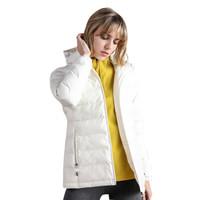 TECTOP 探拓 棉衣 男女轻盈保暖棉服 加厚防泼水外套80252 女款 米白 XL