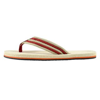 御乐 人字拖男士户外沙滩凉拖鞋 YR1616 米色 39/40码