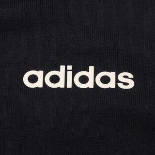 adidas 阿迪达斯 女子 女子训练系列 W E 3S FZ HD 运动 夹克 DU0656 黑色 XL码
