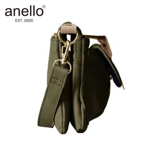 anello 阿耐洛  日本潮流可拆肩带多用轻量便携单肩斜挎包B1223卡其色