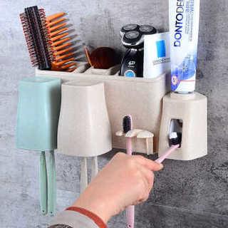 雅高 漱口洗漱杯架牙刷架 3口之家牙刷架
