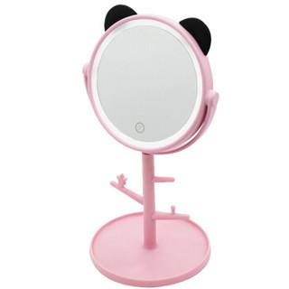 梦庭 LED化妆镜子台镜 干电池+USB插电两用型 A7款    A58017