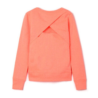 Gap旗舰店 Fit系列女童 套头针织运动卫衣262174 珊瑚色 XXL