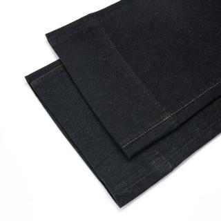 EMPORIO ARMANI阿玛尼奢侈品女士简约时尚纯色高腰阔腿裤  6Z2J33-2D0VZ BLACK-0005 25